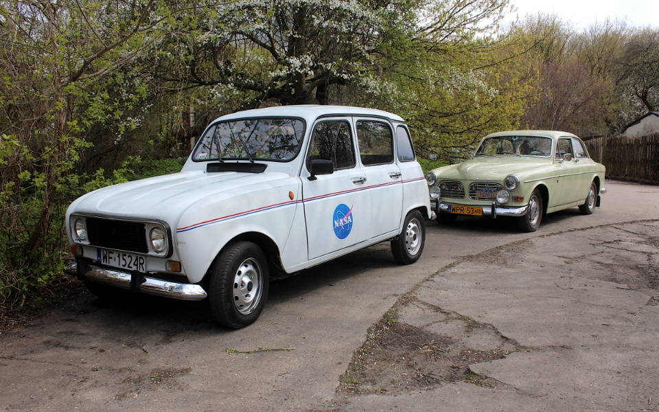 V Rajd Rembertowski - Renault 4 i Volvo Amazon
