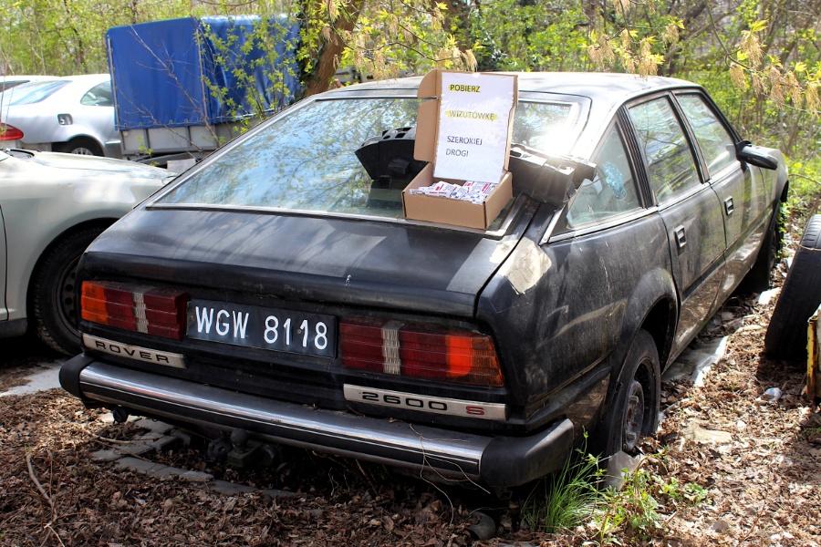 V Rajd Rembertowski - Rover SD1
