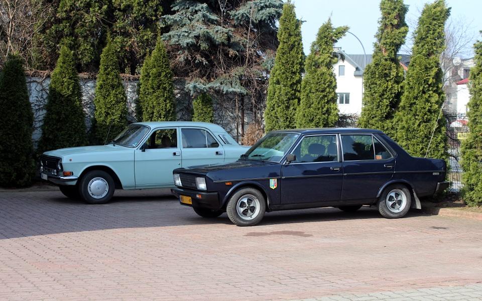 Wołga i Fiat 131