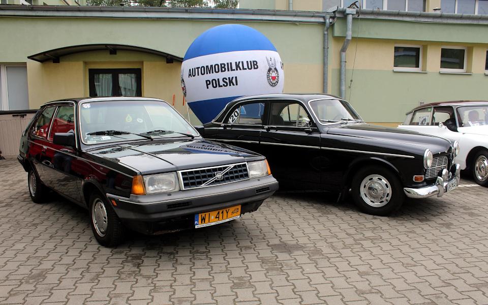 IX Rajd po Ziemi Mińskiej - Volvo 340 i Volvo Amazon