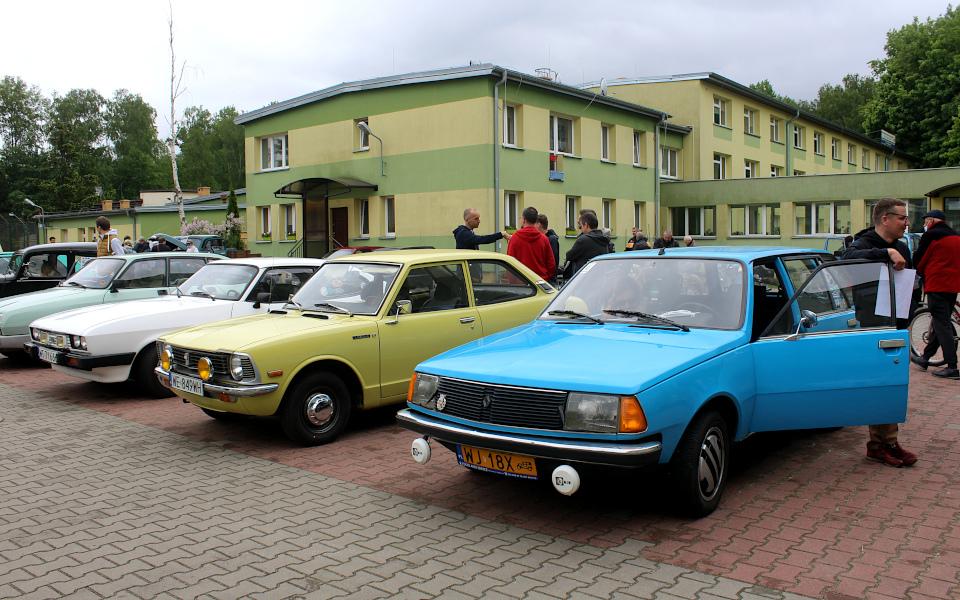 IX Rajd po Ziemi Mińskiej - Ford Capri, Toyota Corolla i Renault 18 Break