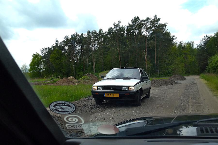 IX Rajd po Ziemi Mińskiej - Renault 11