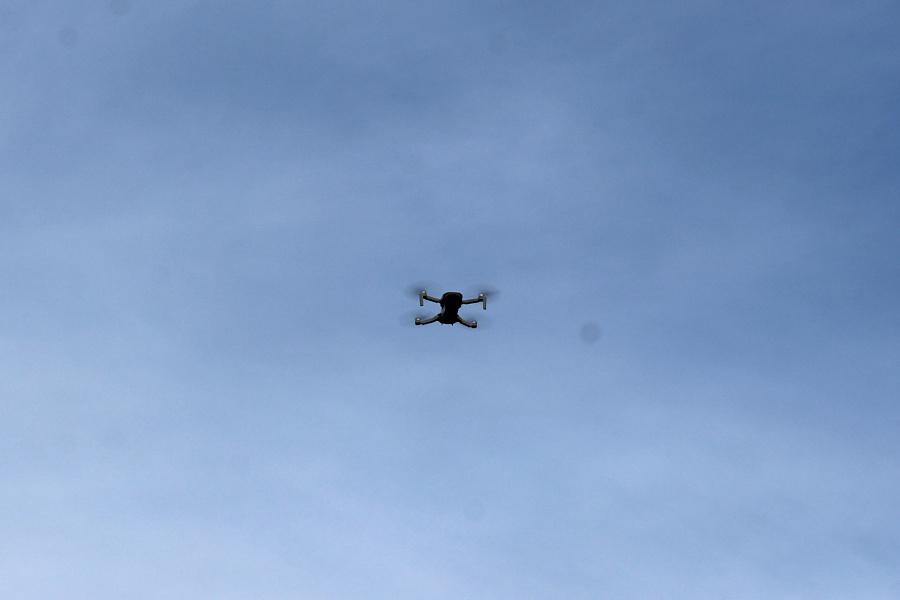 IX Rajd po Ziemi Mińskiej - dron na mecie