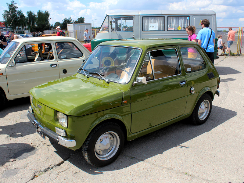48. Urodziny Malucha - włoski Fiat 126