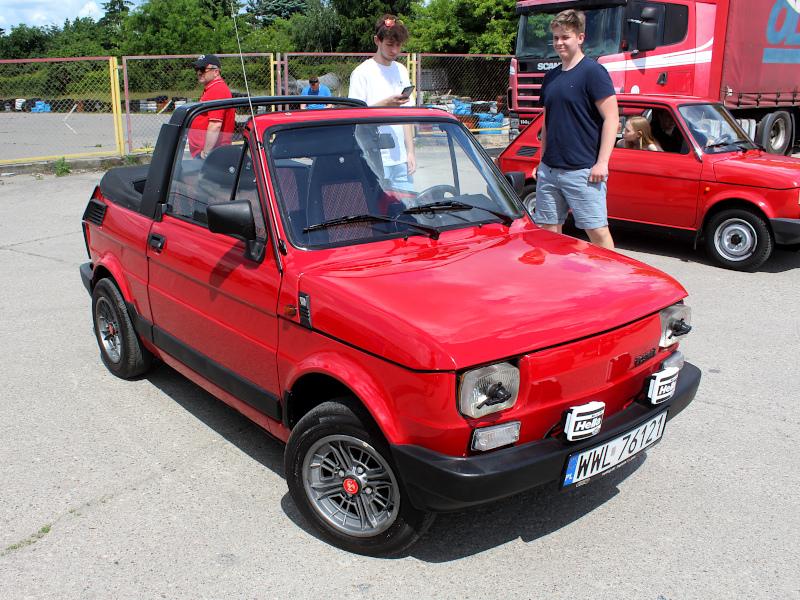 48. Urodziny Malucha - Fiat 126p Bosmal