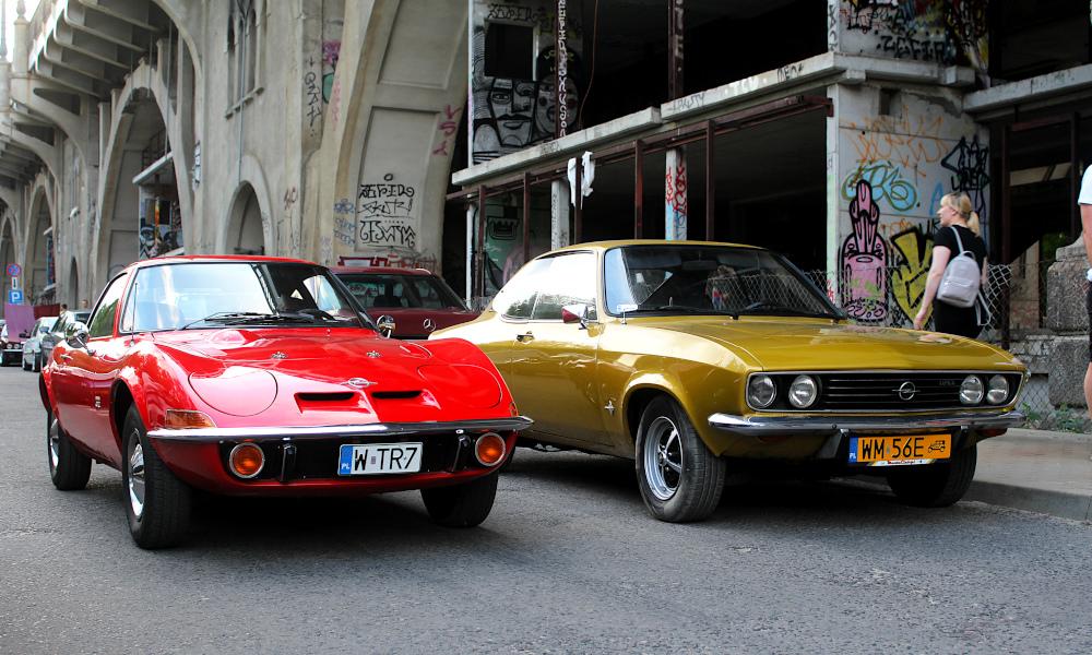 Drive It Day - Opel GT i Opel Manta A