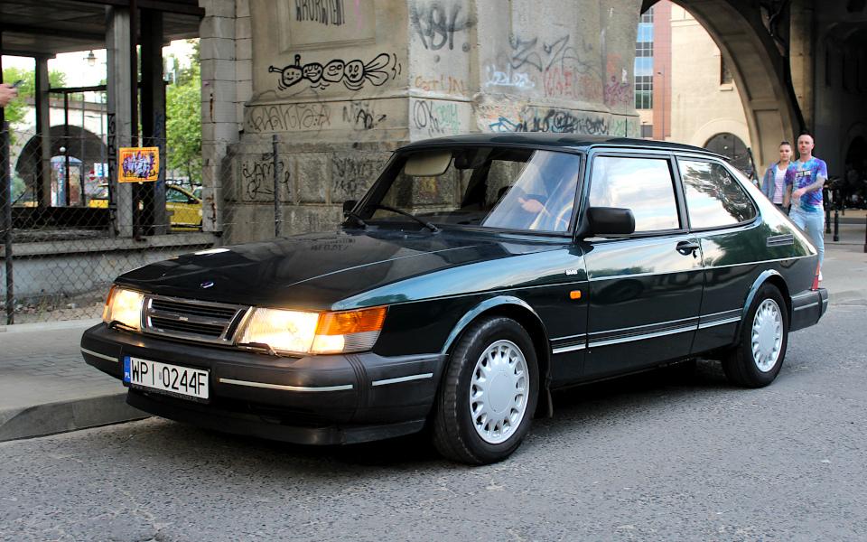 Drive It Day - Saab 900 Krokodyl