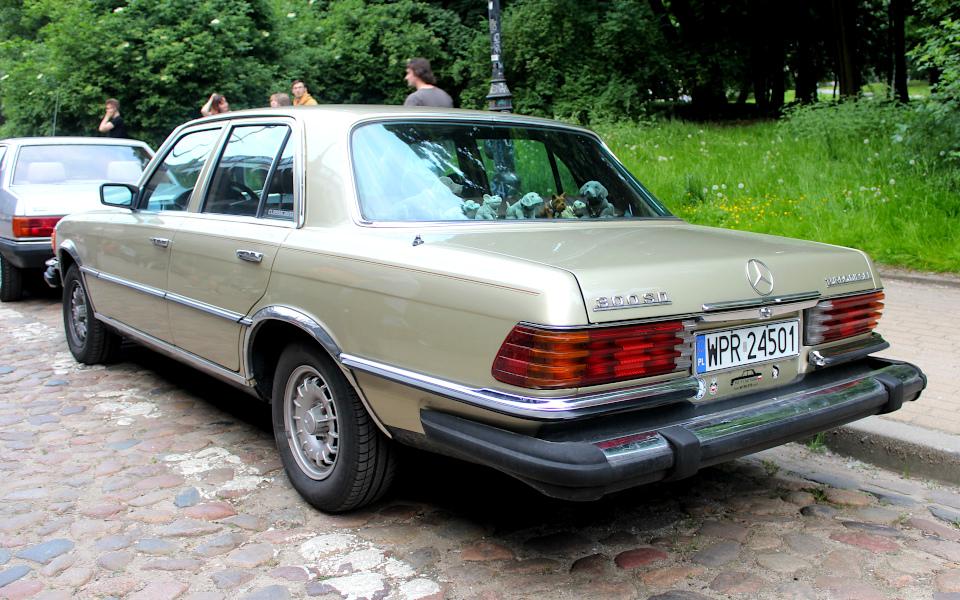 Drive It Day - Mercedes W116