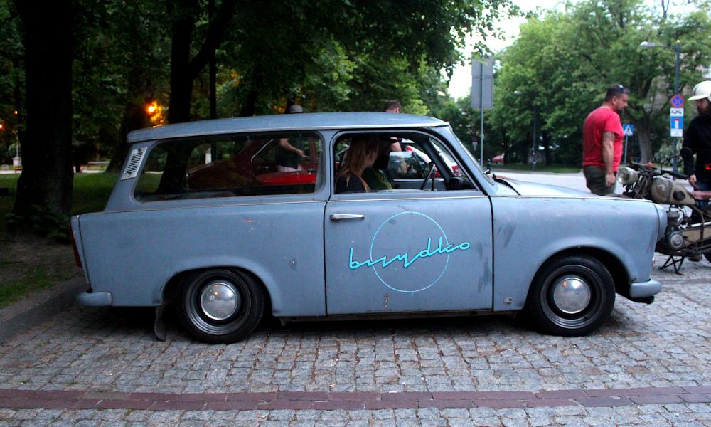 Drive It Day - Trabant kombi BRZYDKO