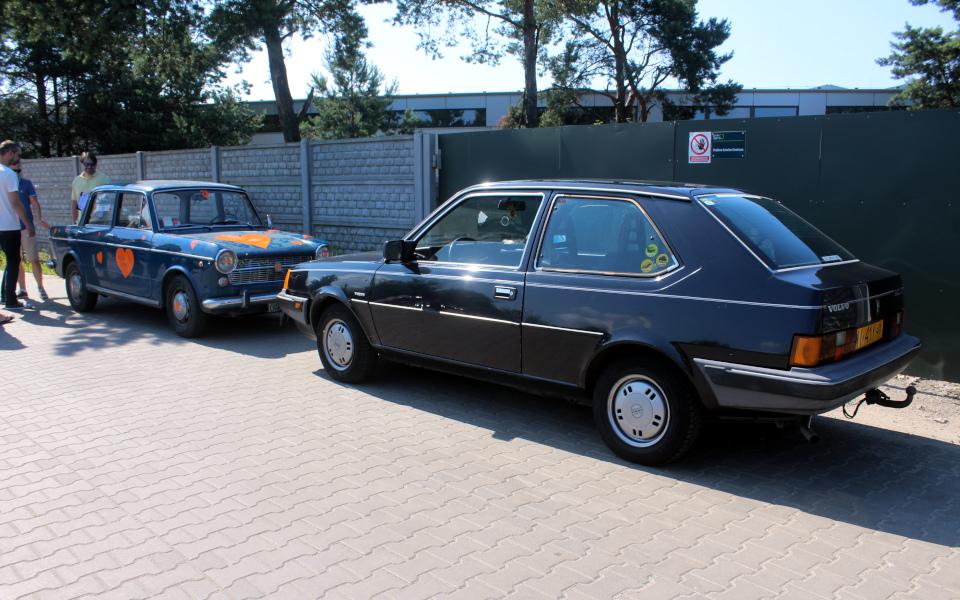 Królewski Rajd Sosnowy '21 - Fiat 1100R i Volvo 340 DAFuq
