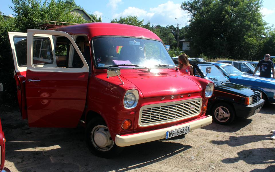 Królewski Rajd Sosnowy '21 - Ford Transit V4 i Fiat Panda Dance