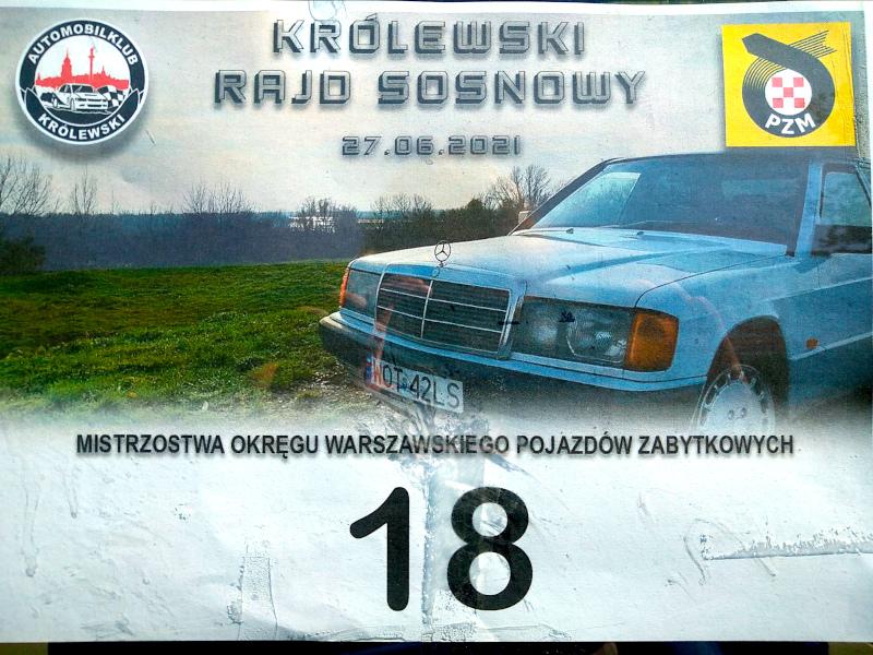 Królewski Rajd Sosnowy '21