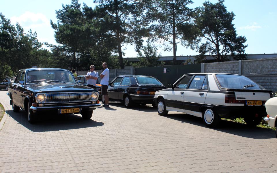 Królewski Rajd Sosnowy '21 - Wołga, DAFuq i Renault 11