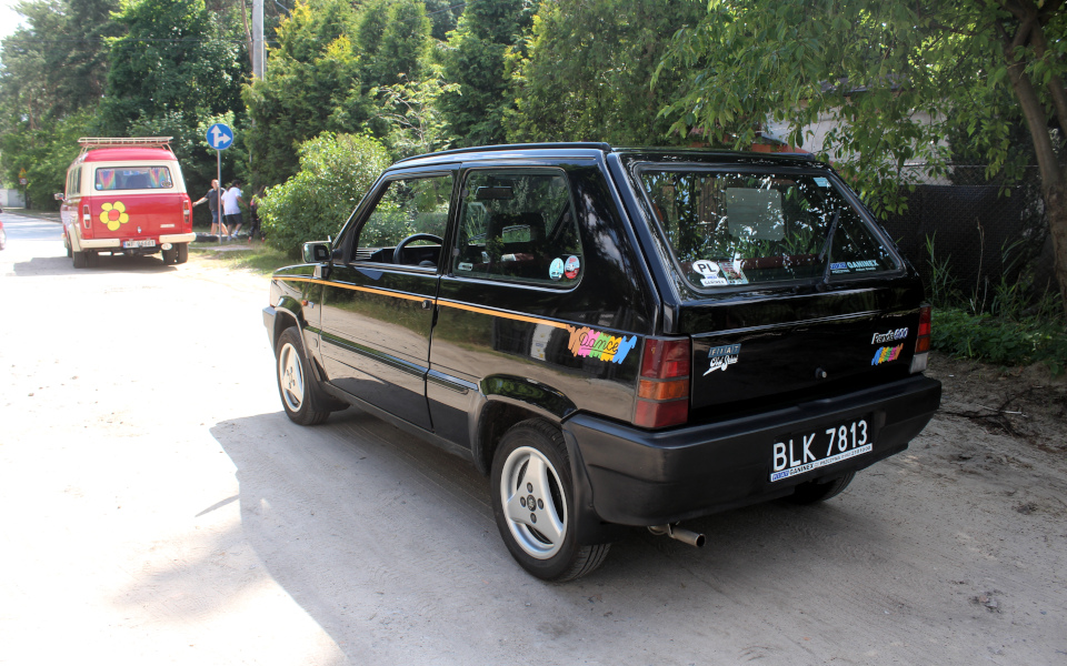 Królewski Rajd Sosnowy '21 - Panda i Transit