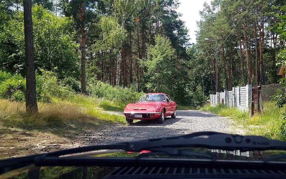 Królewski Rajd Sosnowy '21 - Opel GT