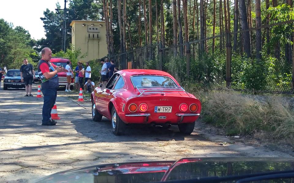 Królewski Rajd Sosnowy '21 - Opel GT na próbie SZ