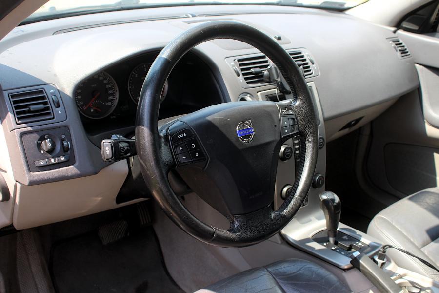 Volvo V50 - wnętrze