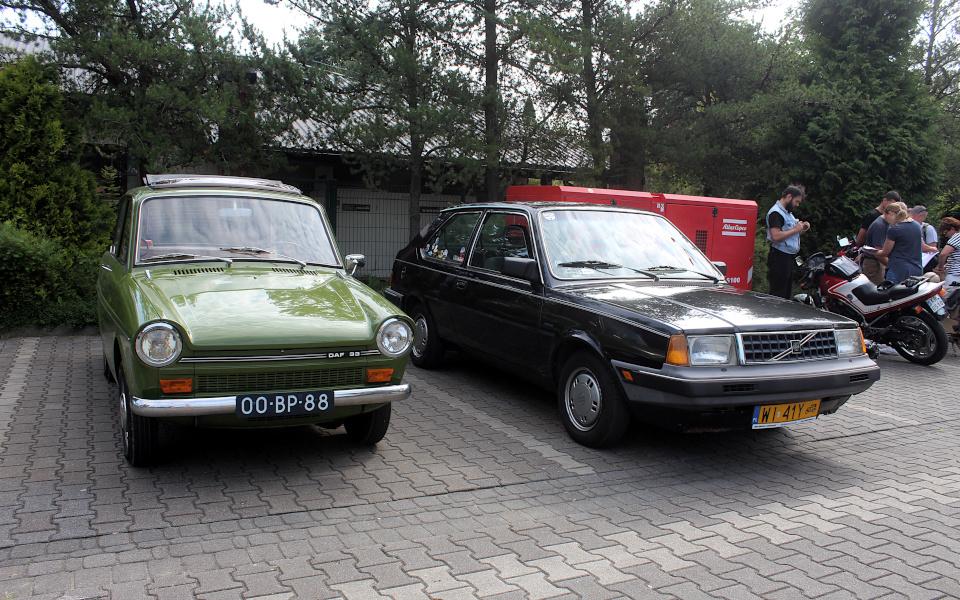 I Rajd Panorama - DAF 33 i Volvo 340