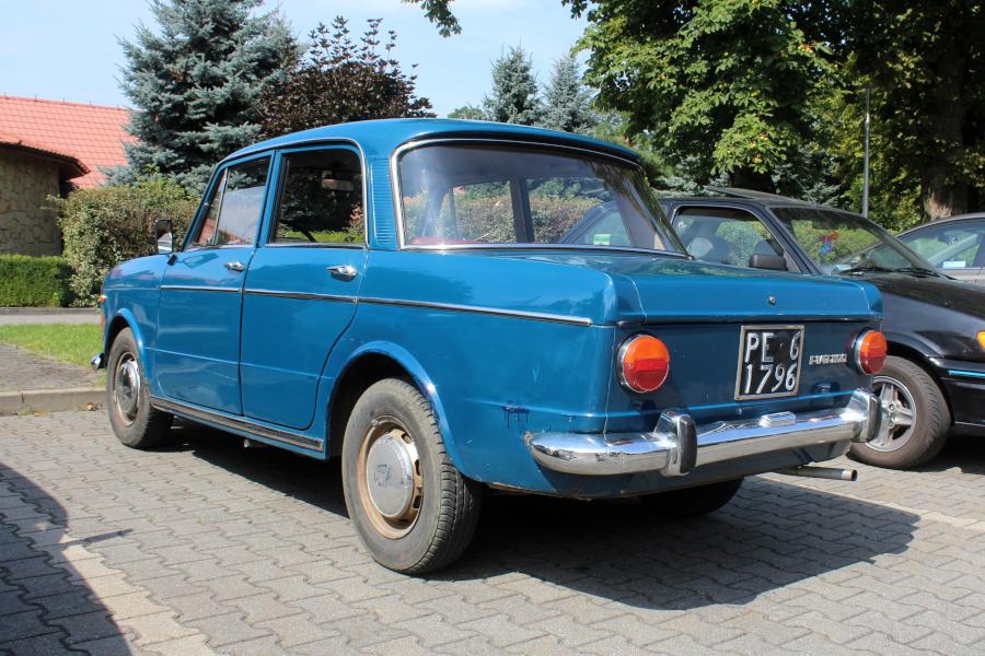 I Rajd Panorama - Fiat 1100R