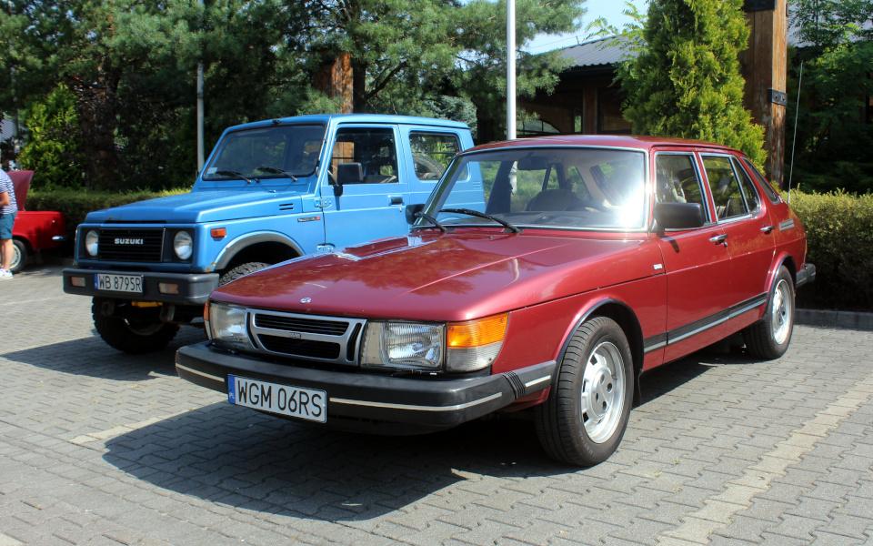 I Rajd Panorama - Suzuki Samurai i Saab 900