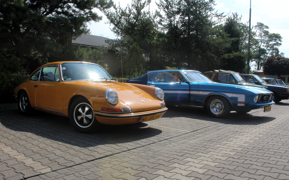 I Rajd Panorama - Porsche 911T i Ford Mustang