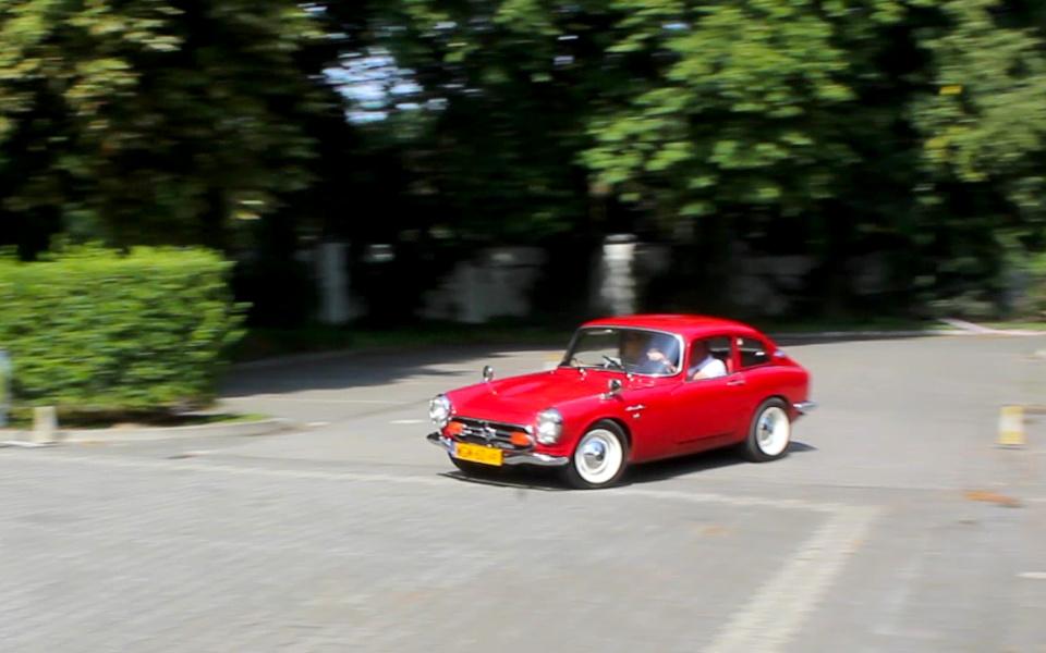 I Rajd Panorama - Honda S800 na próbie SZ