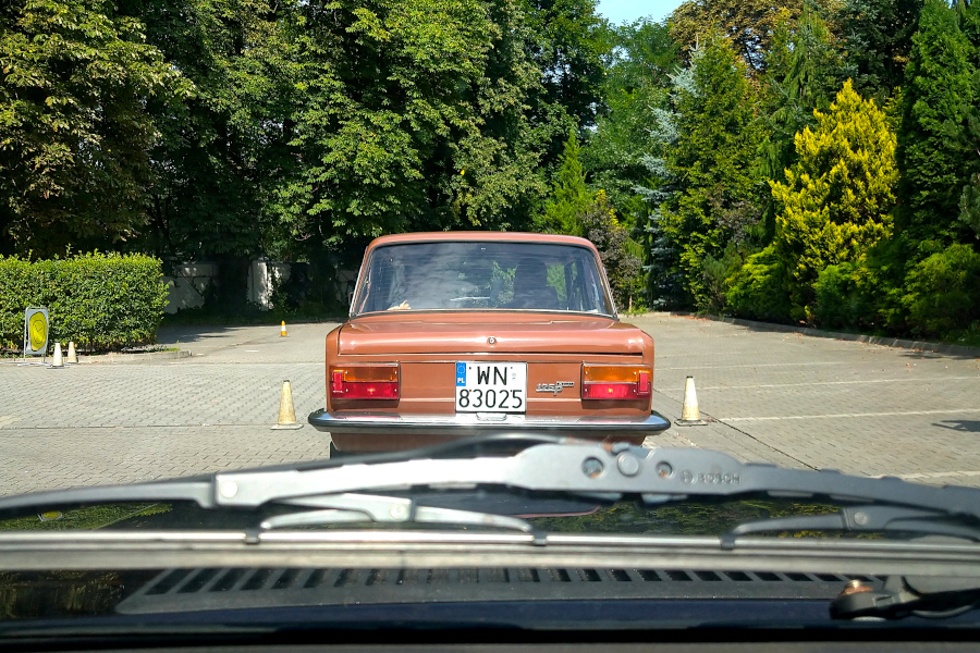 I Rajd Panorama - Fiat 125p