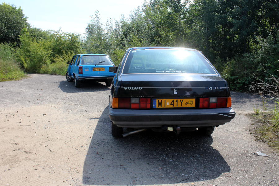 I Rajd Panorama - DAFuq i Renault 18