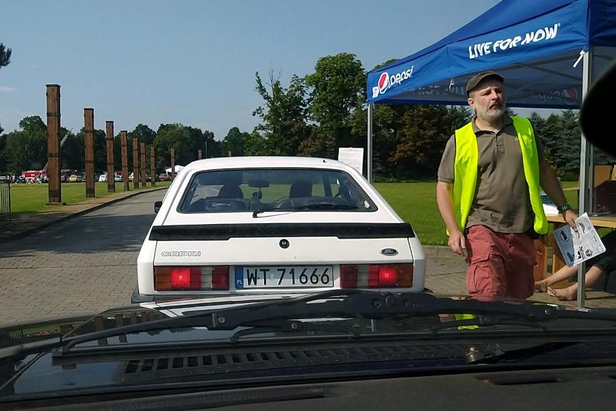 I Rajd Panorama - Ford Capri na mecie