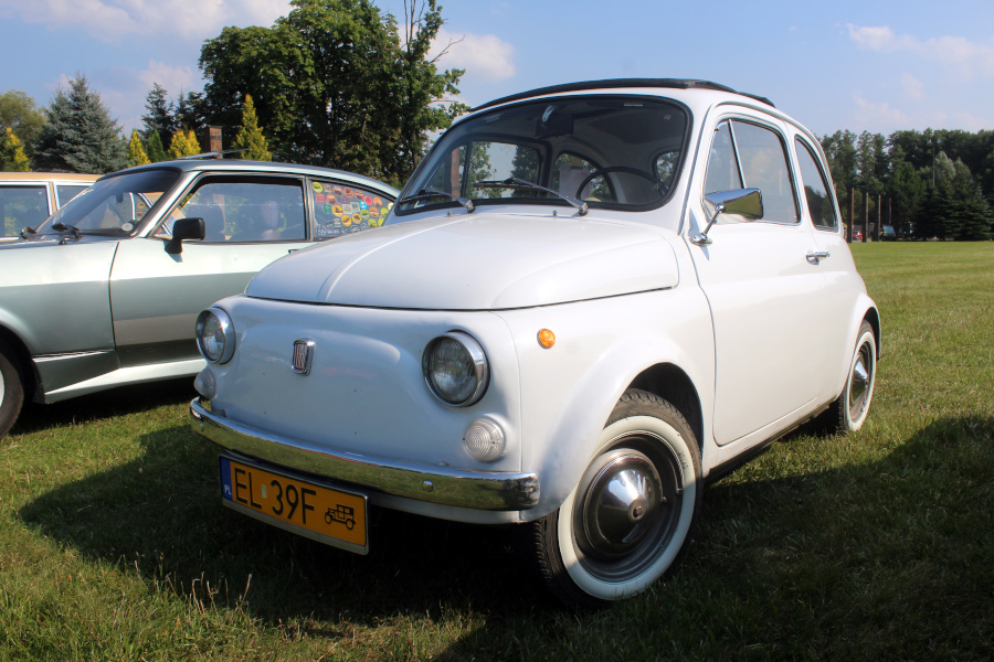 I Rajd Panorama - Fiat 500