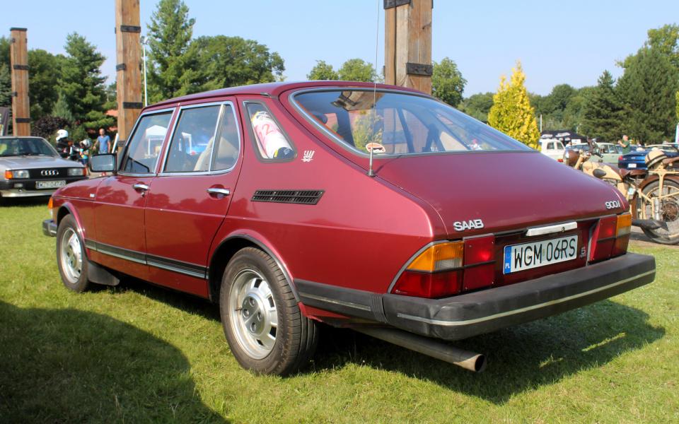 I Rajd Panorama - Saab 900