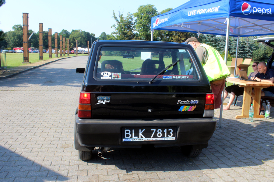 I Rajd Panorama - Fiat Panda na mecie