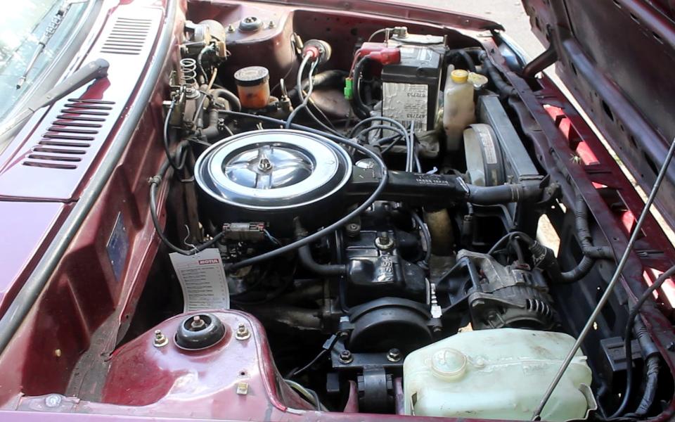 Nissan Micra K10 - silnik MA10S