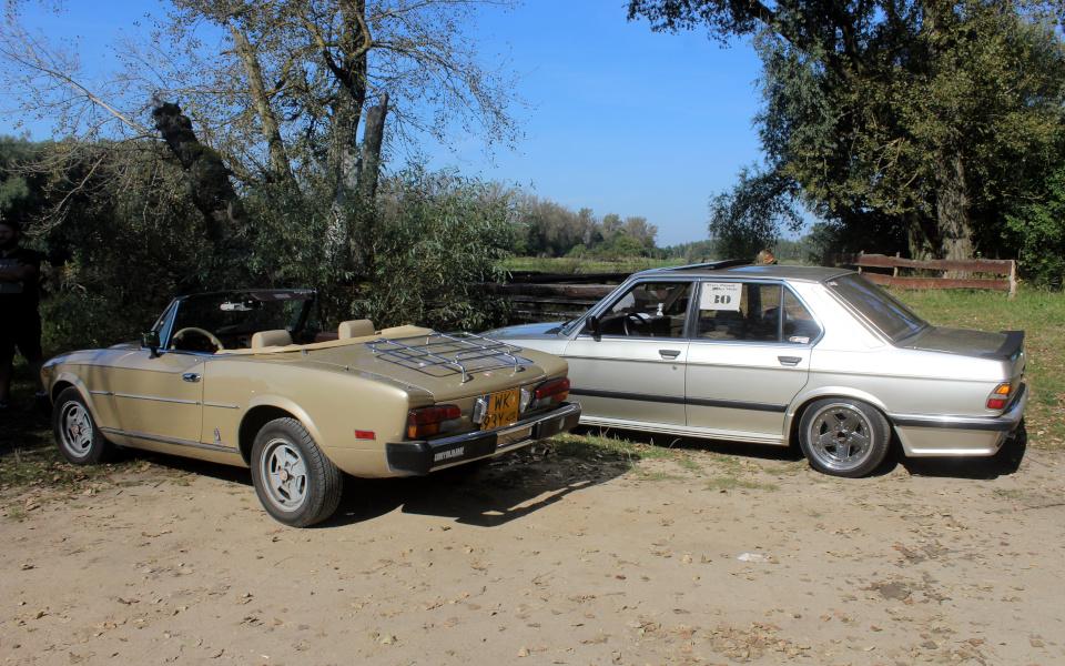 Stary Pojazd i Może - Fiat 124 Spider i BMW E28