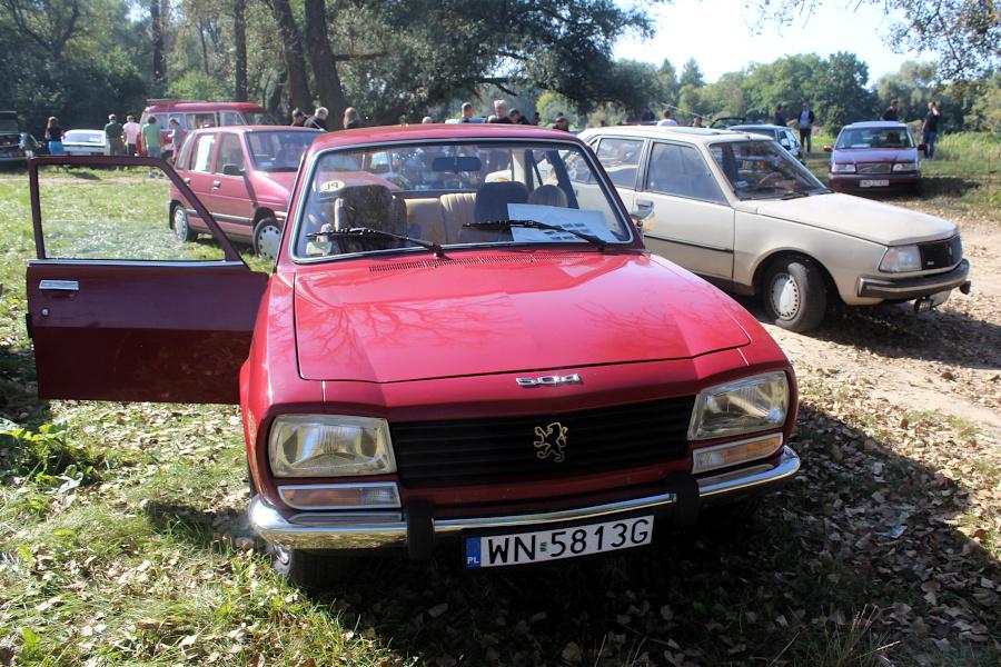 Stary Pojazd i Może - Peugeot 504 i Renault 18