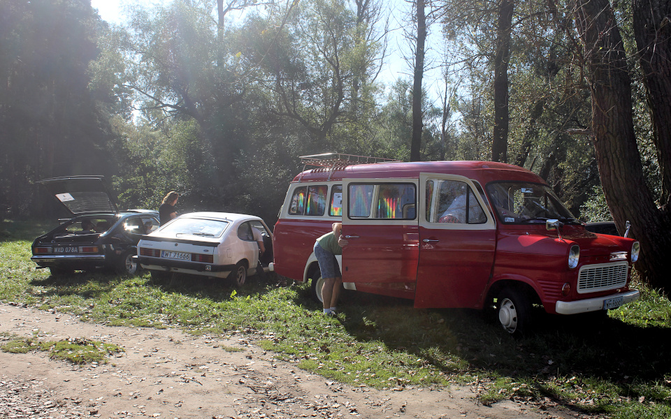 Stary Pojazd i Może - Ford Capri i Transit