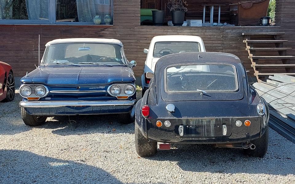 Stary Pojazd i Może - Chevrolet Corvair